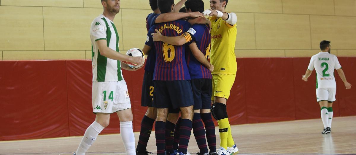 Barça Lassa B – Córdoba CF Futsal (7-4): Intensitat blaugrana