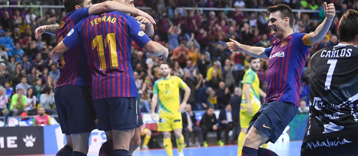 Barça Lassa 4-2 Jaén Paraíso Interior: Four points clear