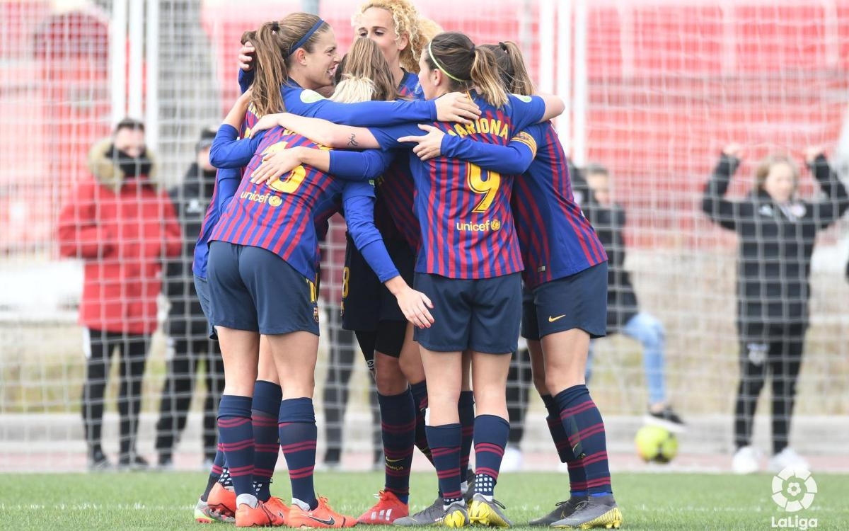 Rayo Vallecano 0-4 Barça Women: A win to keep pace with the leaders
