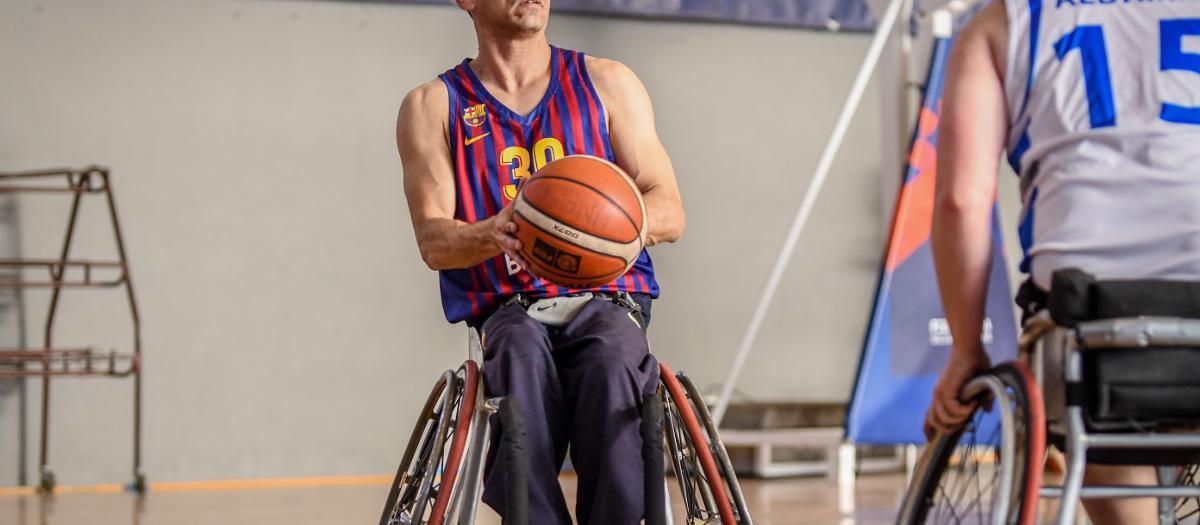 El Barça de bàsquet en cadira de rodes ja és equip de play off