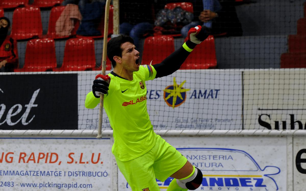 Noia Freixenet 2-2 Barça Lassa: A point each