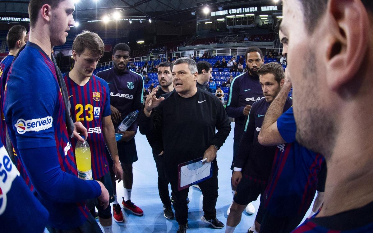 Bidasoa Irun – Barça Lassa: Sense descans a la pista del segon