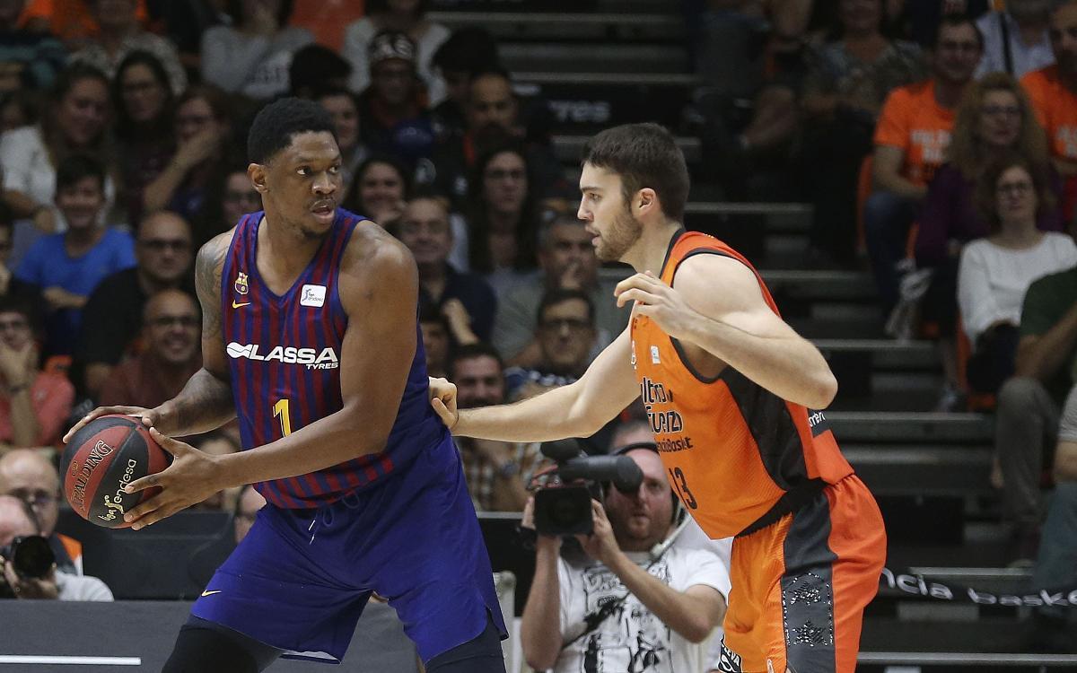 Valencia Basket - Barça Lassa: Comienza la defensa de la Copa en Madrid