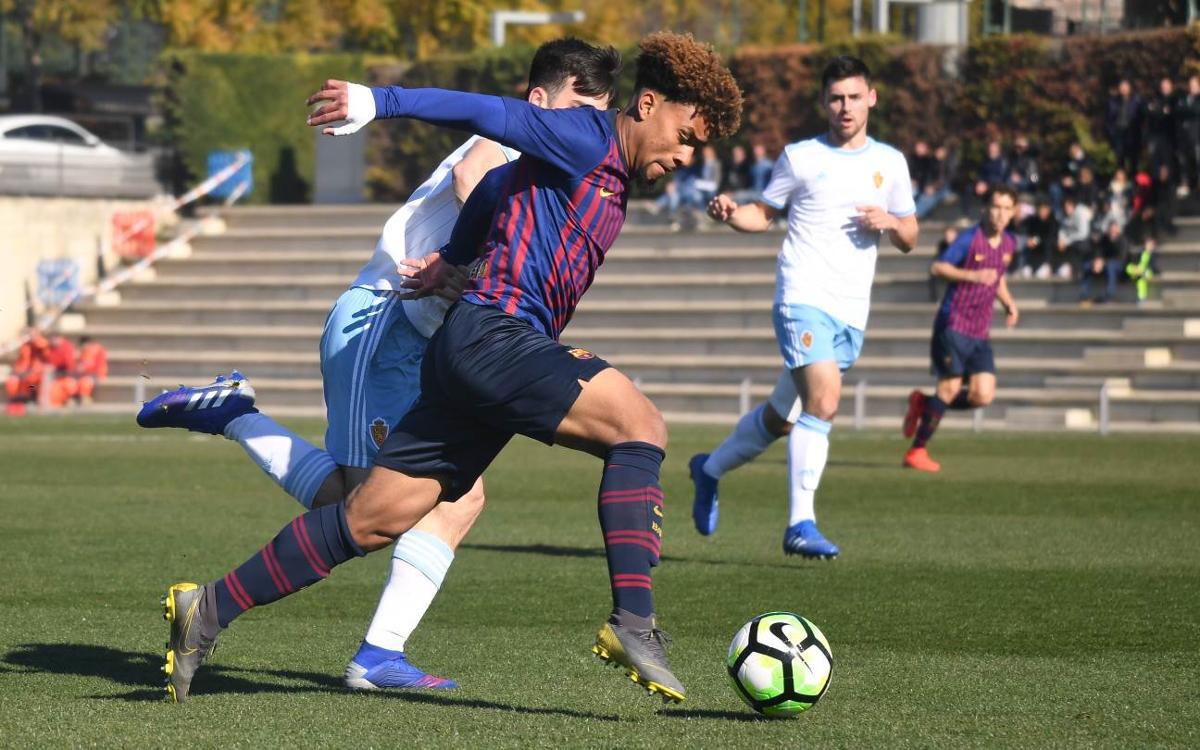 Juvenil A – Zaragoza: Tropiezo en casa (0-1)
