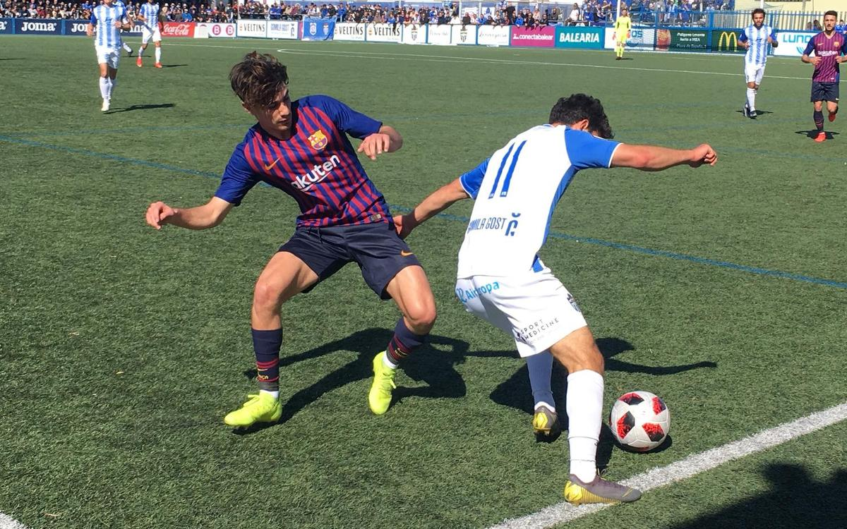 Atlètic Balears – Barça B: Tropiezo ante el líder (1–0)