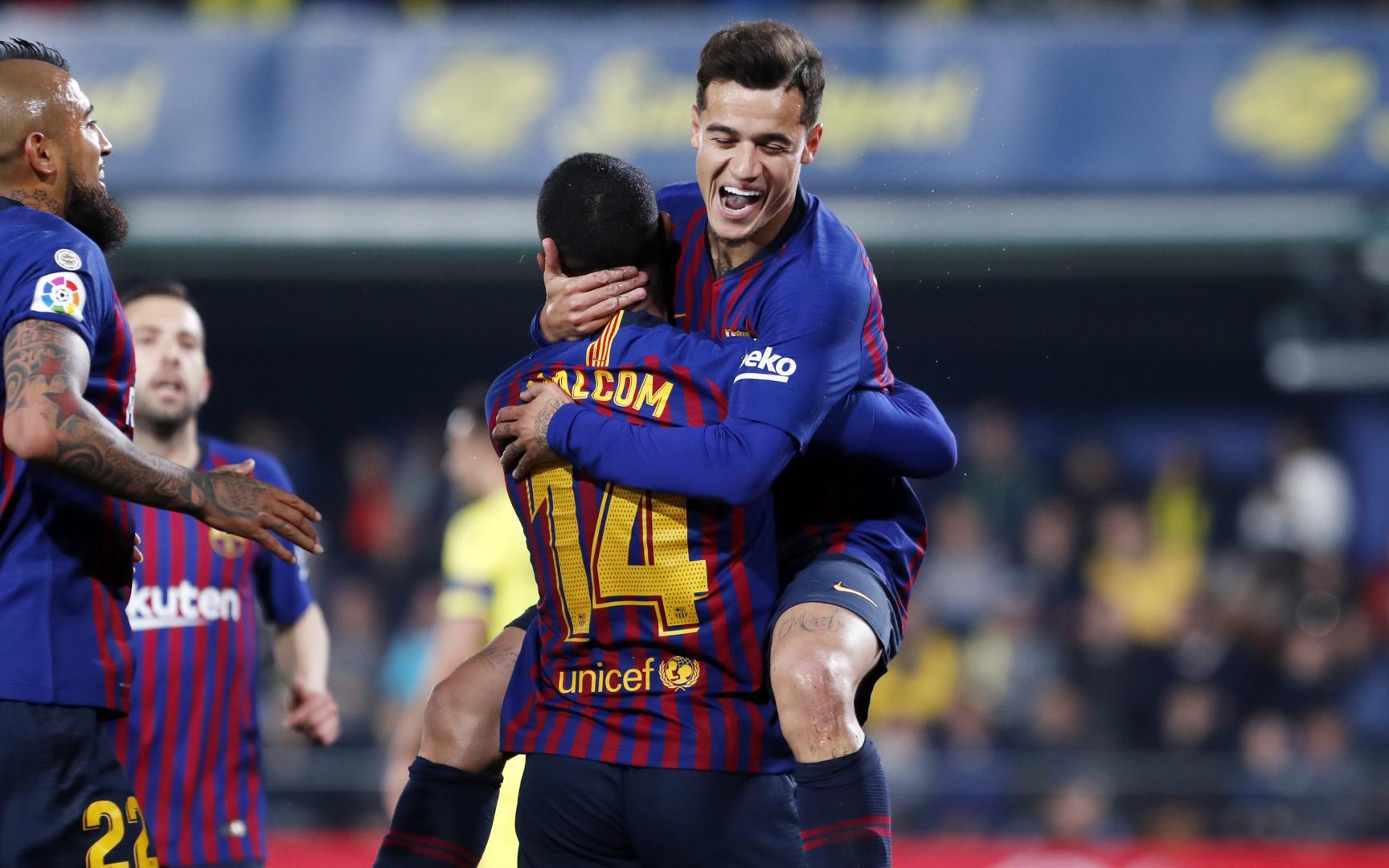 FC Barcelona 2 - Villarreal 0 (full match)  |Barcelona- Villarreal