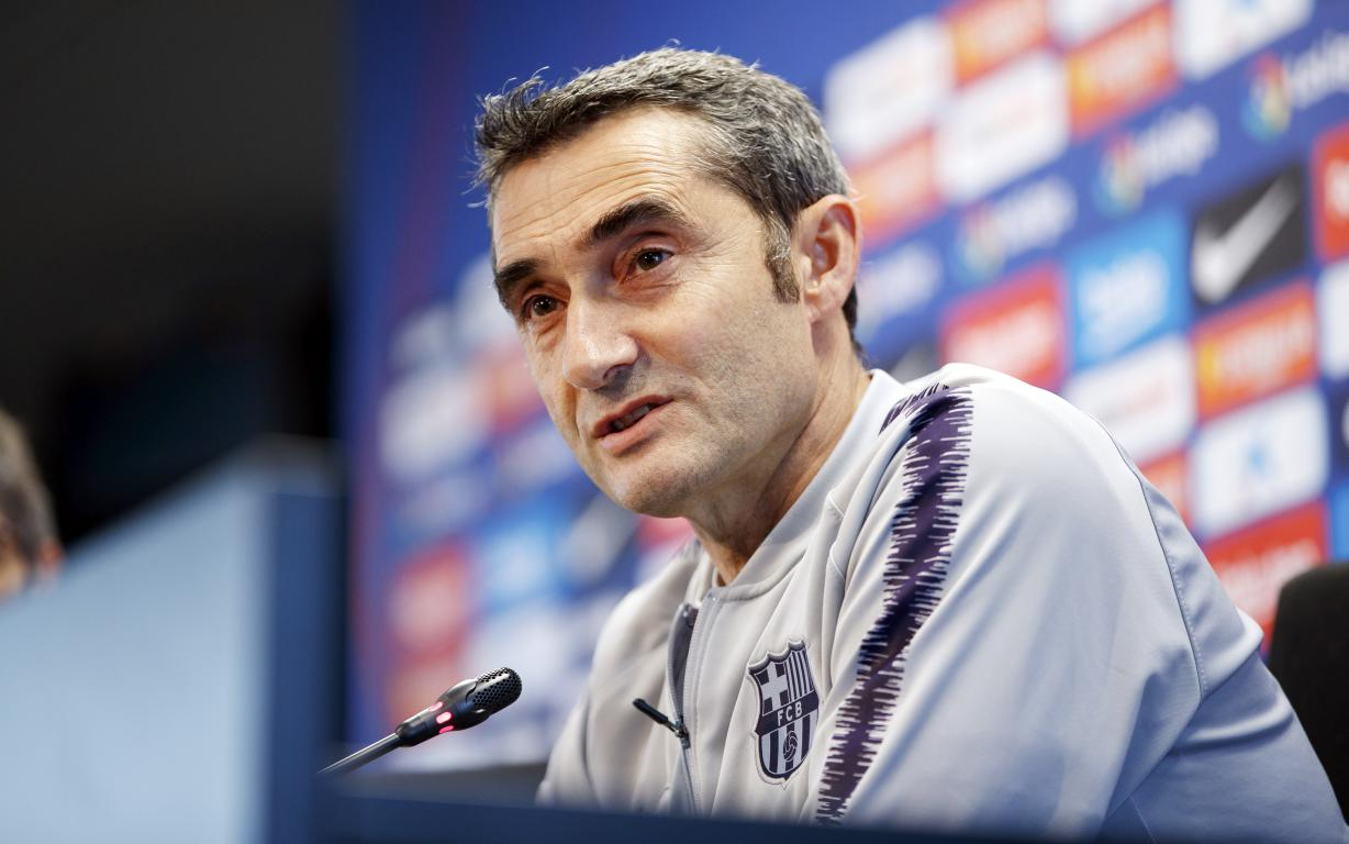 Valverde: The 9 points we need to be champions are on offer this week