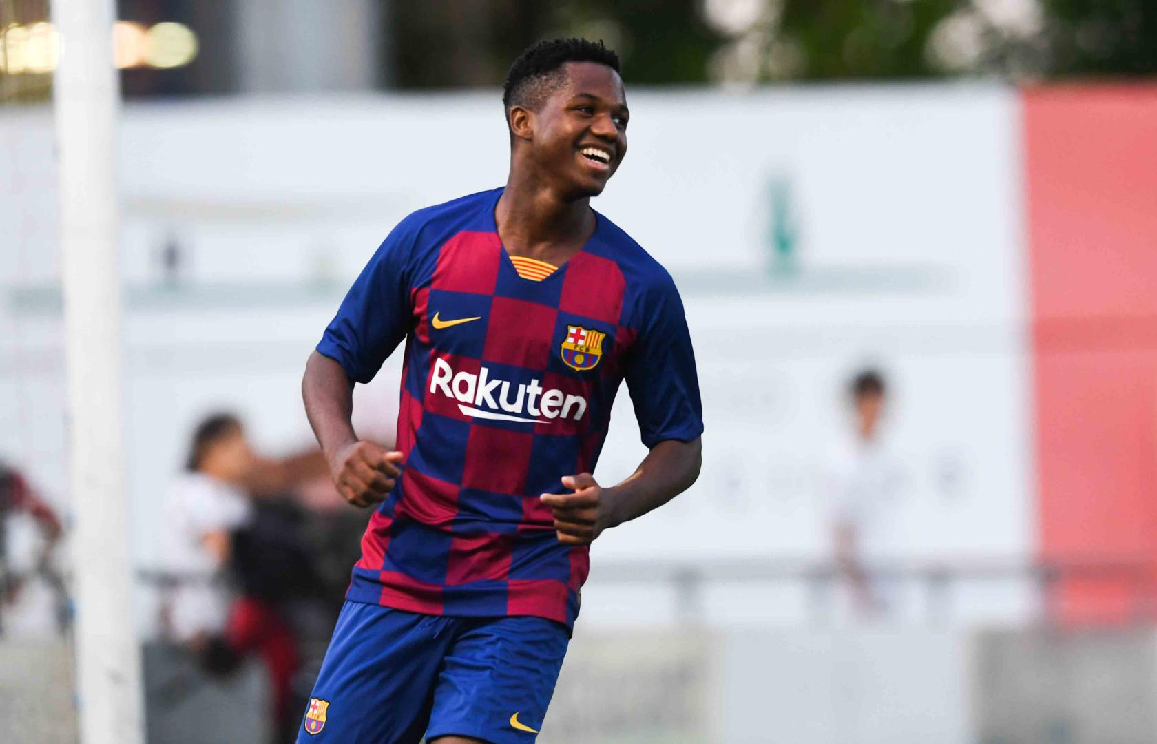 Ansu Fati: 7 Things to Know About the Latest Barcelona ...  |Ansu Fati