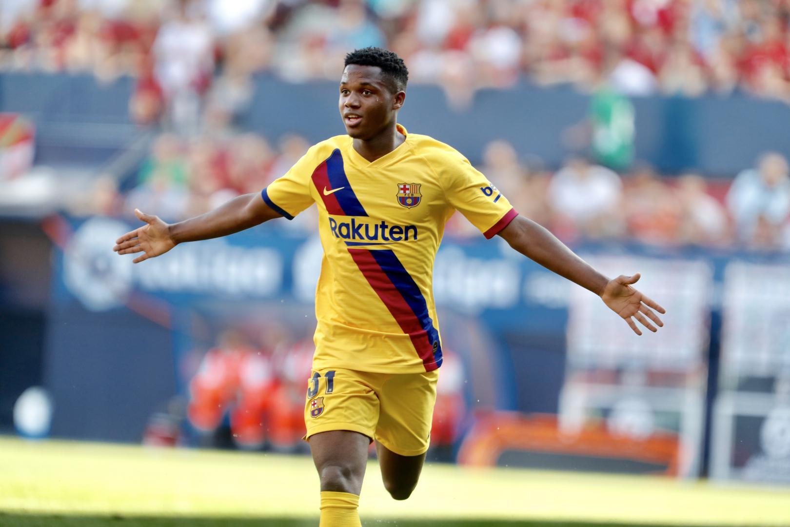Barcelona vs Real Betis: Ansu Fati: I stayed on the pitch ...  |Ansu Fati