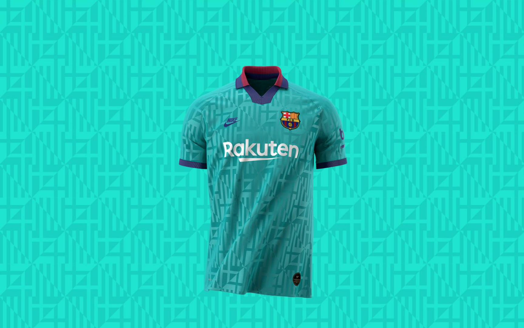 Pride in Barcelona inspires the design for Barça's third kit this season