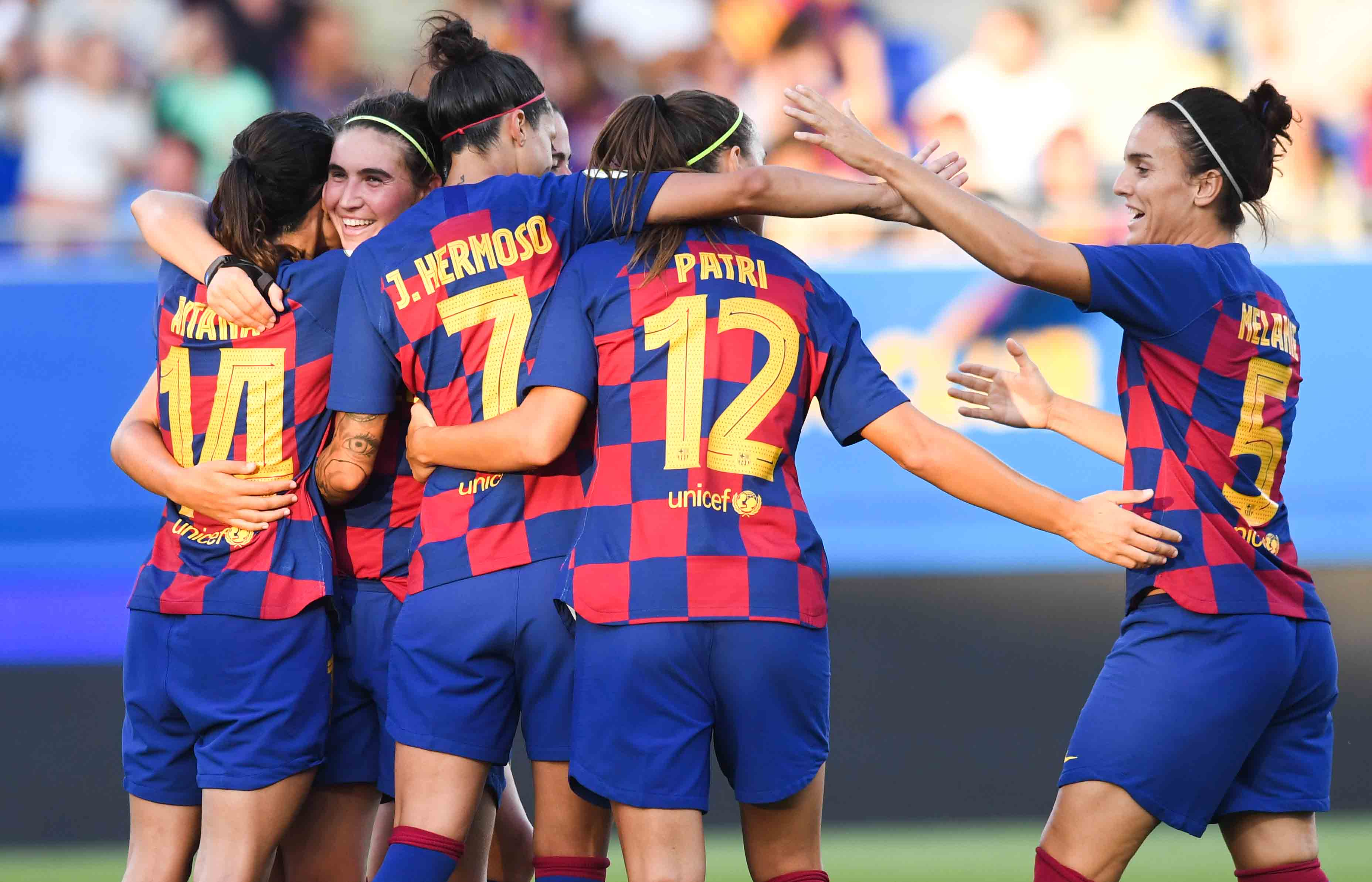 WOMEN'S FOOTBALL LIVE: Barça v Atlético Madrid