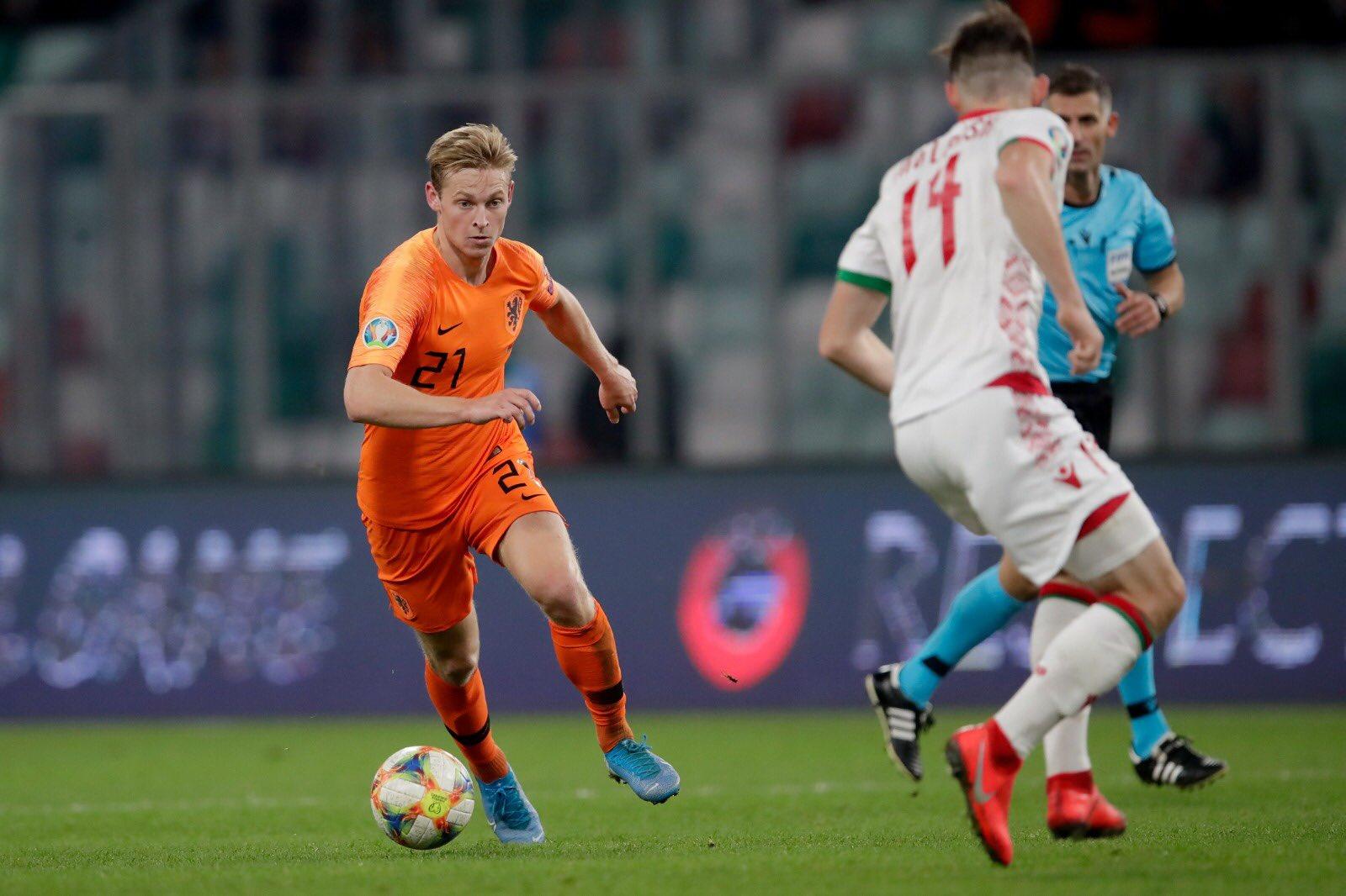 Ter Stegen and De Jong qualify for the European Championship